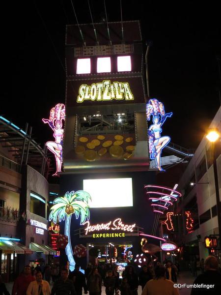 Downtown Vegas -- Slotzilla