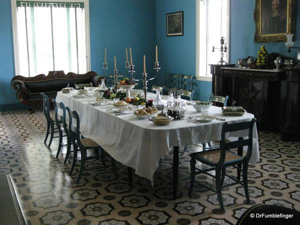 The Hermitage. The dining room