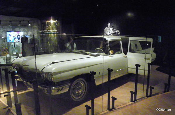 Nashville, Country Music Hall of Fame. Elvis' Cadillac