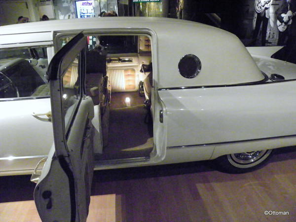 Nashville, Country Music Hall of Fame. Elvis' Cadillac limousine