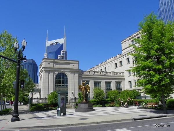 Nashville Downtown, near the Symphony Center