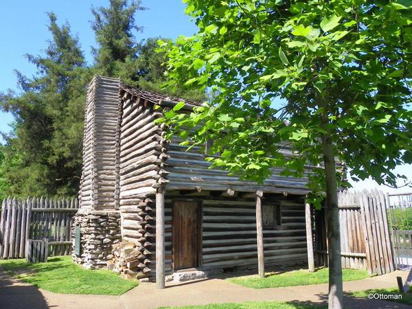 Nashville, Historic Fort Nashborough