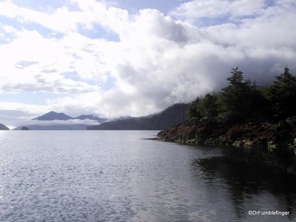 View from Moresby Landing, Haida Gwaii