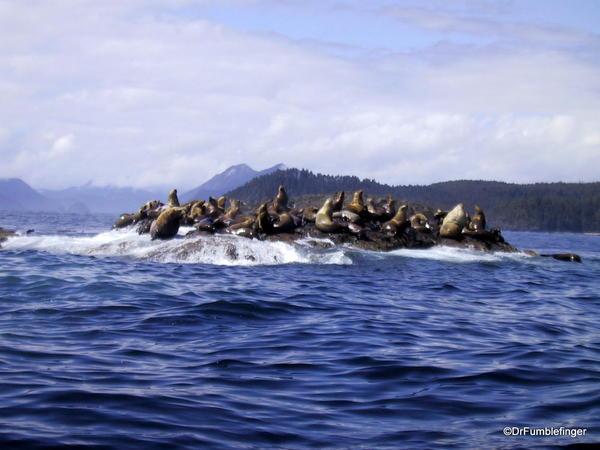 Seal Rock, Haida Gwaii