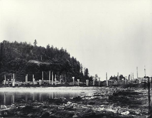 Skedans, 1878. Public domain