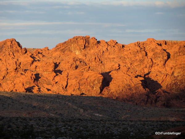 Valley of Fire State Park at dusk