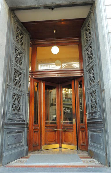Doors of Argentina, Buenos Aires. Revolving Doors Congressional House