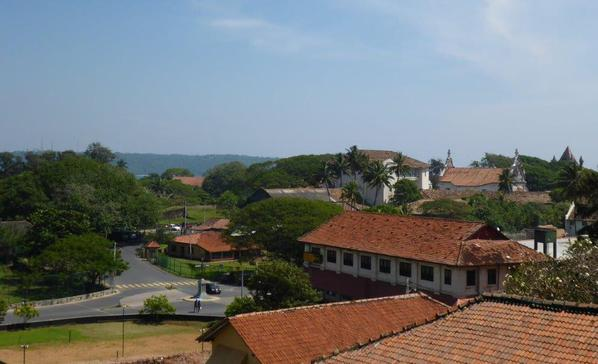 Galle seen from the Clock Tower