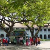 Square in Galle