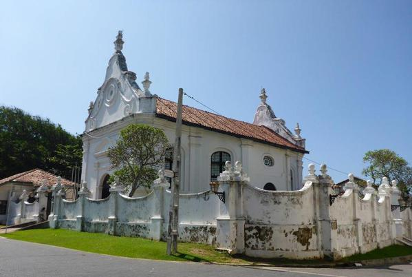 Dutch church in Galle