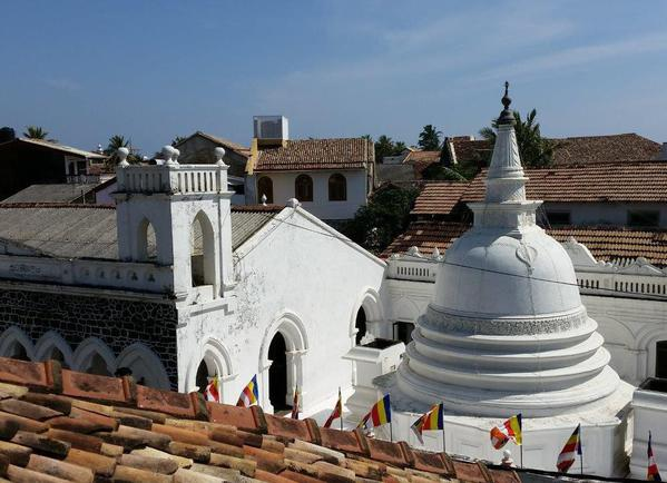 Buddhist temple in Galle