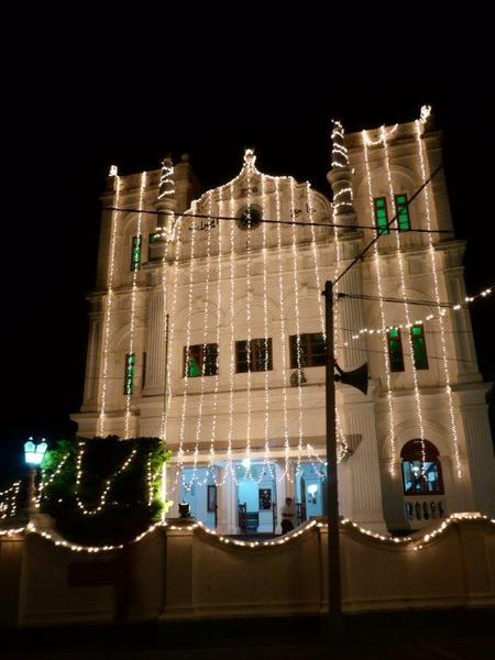 Galle Mosque by night