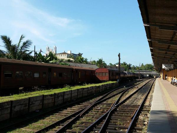 The Galle Railway station