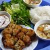 Vietnam.  Crab Spring Rolls