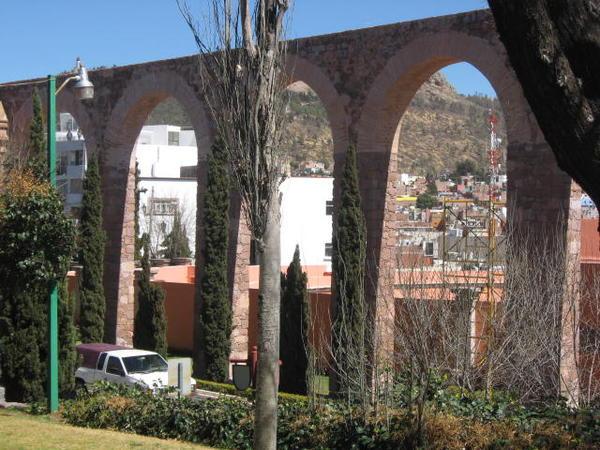 Zacatecas, Mexico -- Aqueduct