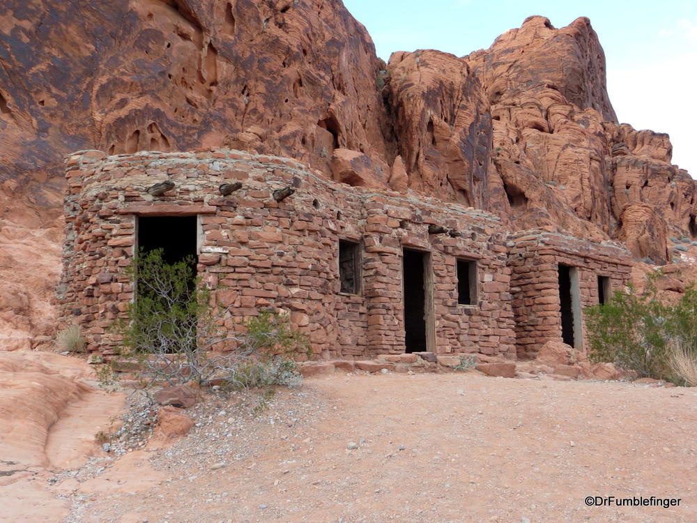 the cabins valley of fire state park nevada where gumbo