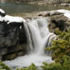 Elbow Falls: What the falls used to look like before the flooding.