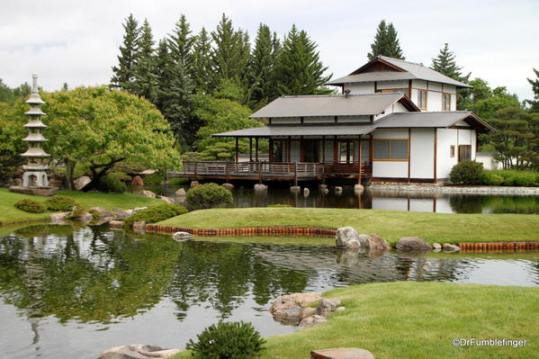 Nikka Yuko Japanese Garden, Lethbridge. Pavilion
