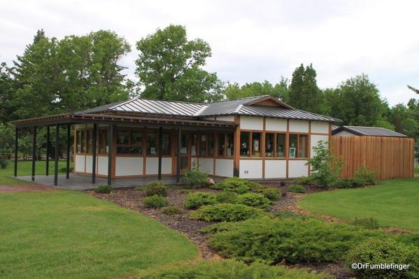 Nikka Yuko Japanese Garden, Lethbridge. Ticket Office