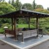Nikka Yuko Japanese Garden, Lethbridge.  Gazebo