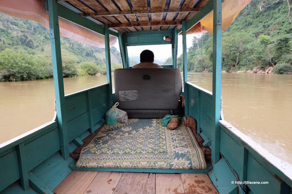 9). Boat on the Nam Ou River