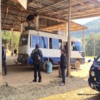 Bus Station at Muang Khua