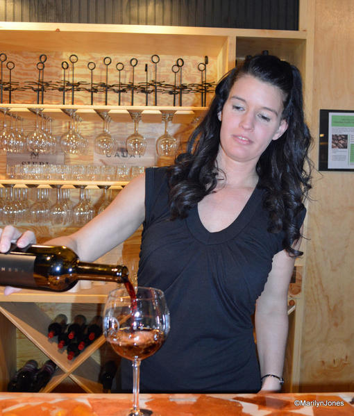Umbra Winery features more than a dozen award-winning wines.