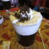 Cappucino.  La Chocolatta, Puenta Arenas, Chile