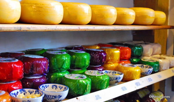 Edam cheese brought fame to the town and still draws tourists who want to take a sample back home
