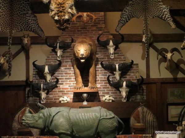 Jim Shockey S Trophy Room