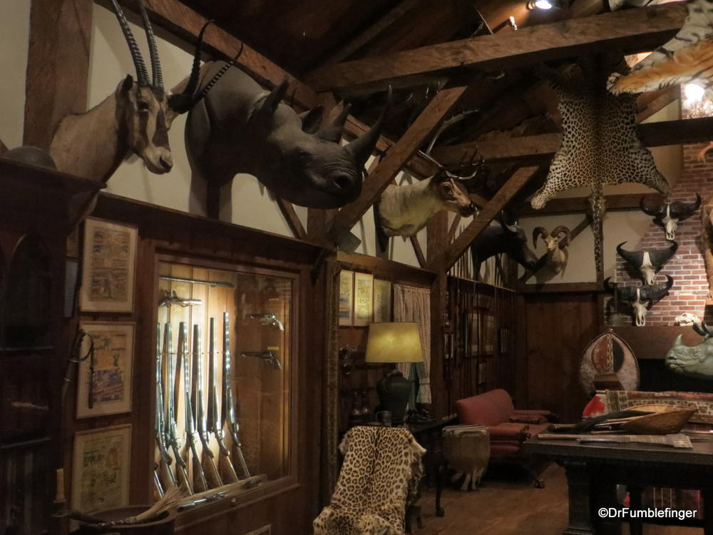 The Colby Trophy Room, Museum of Science, Boston (Where Gumbo was ...