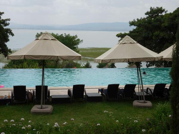 Swimming pool of the Haile resort