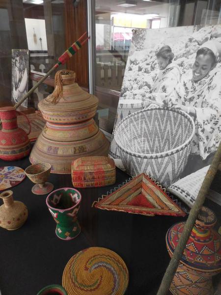 2015-05 Ethiopian National Museum 32 Cultural Baskets