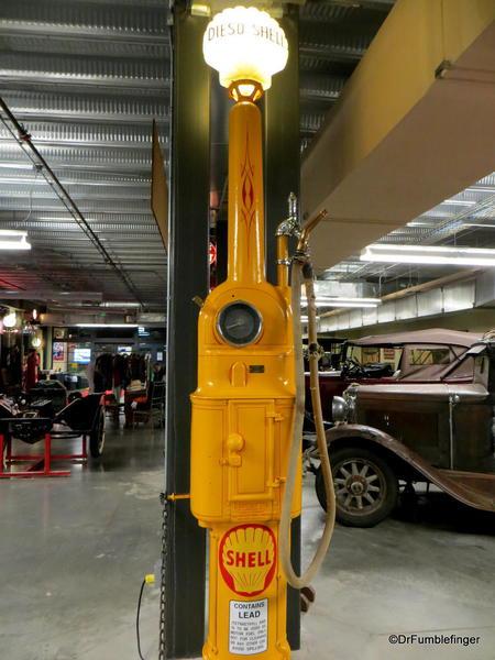 Gasoline Alley pumps