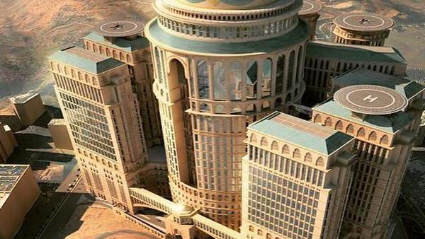 Mecca Hotel (image via Twitter)
