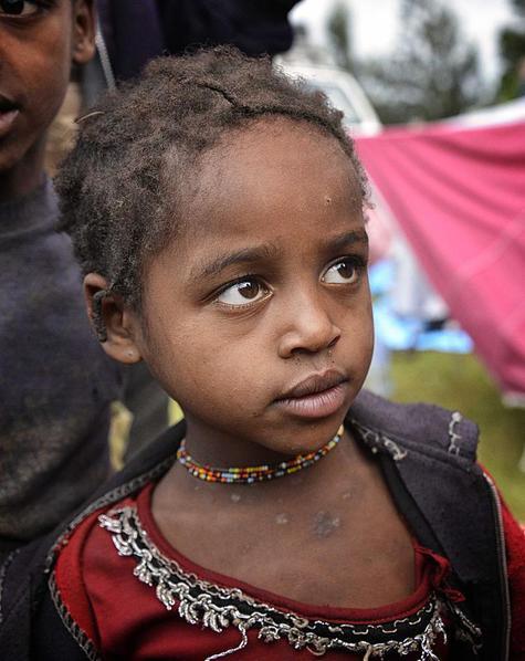Dizi Tribal Girl, Marji. Courtesy Rod Waddington and Wikimedia