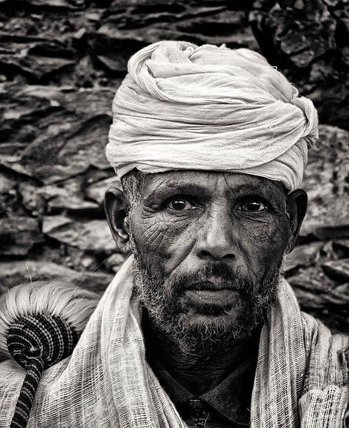 Ethiopian Orthodox Priest Tigray. Courtesy Rod Waddington and Wikimedia