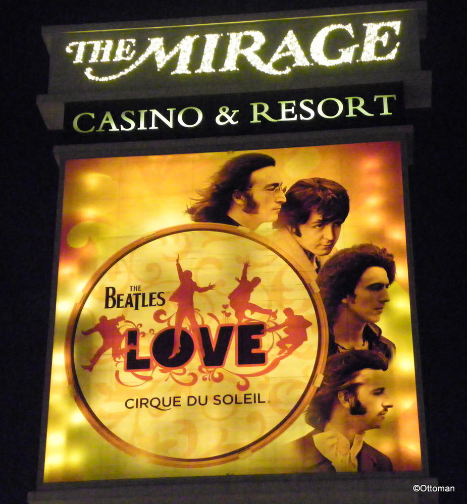 Gumbo S Pic Of The Day June 11 2015 Beatles Love A Cirque Du Soleil Show The Mirage Casino And Resort Las Vegas Nevada Travelgumbo