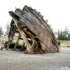 East Beach Trail.  Pesuta Shipwreck