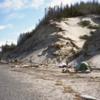 Eagle Creek Campsite, Cape Bell River Camp.  East Beach Trail, Haida Gwaii