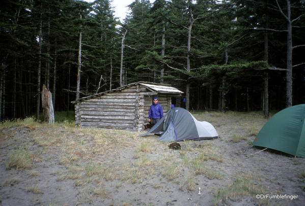 East Beach Trail. Oenada River Shelter