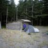 East Beach Trail.  Oenada River Shelter