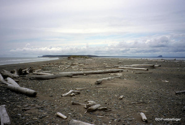 Rose Spit. East Beach Trail, Haida Gwaii