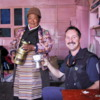 Tea ceremony in home of a Sherpa family, Namche Bazaar