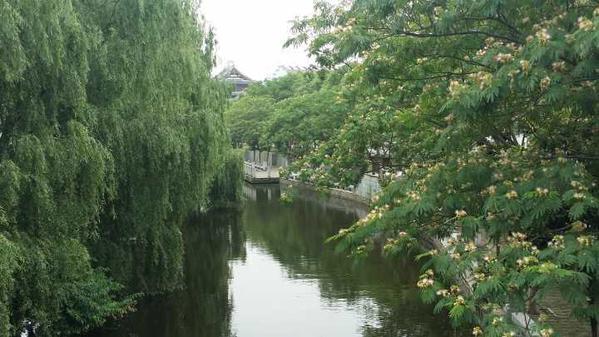 YanGuan -- a town to watch Qiantang's Tidal Bore, China
