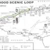 Mt. Hood Scenic Route Map: Mt. Hood Scenic Route Map