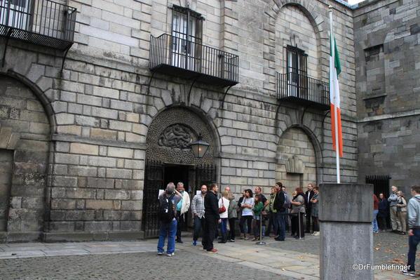 Entrance to Kilmainham Gaol, Dublin