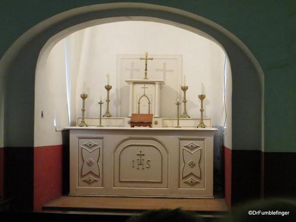 Chapel, Kilmainham Gaol, Dublin. Chapel