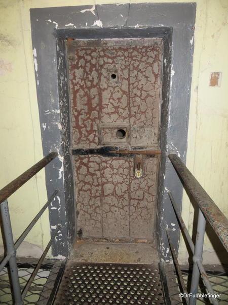 Prisoner's door, Kilmainham Gaol, Dublin