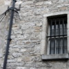 Kilmainham Gaol, Dublin.  The spikes are intended to keep prisoners in.